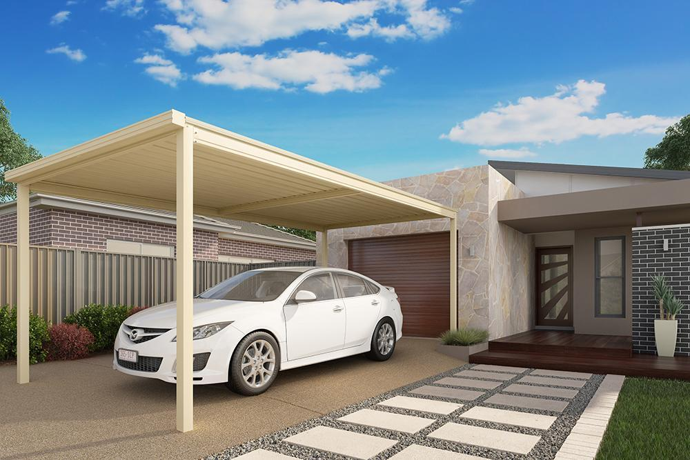 signature outdoor living carports colorbond carport