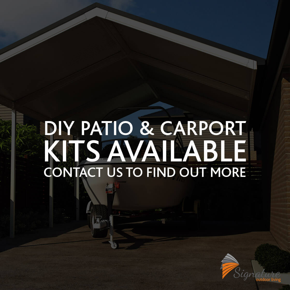 patio diy kits carport diy kits signature outdoor living