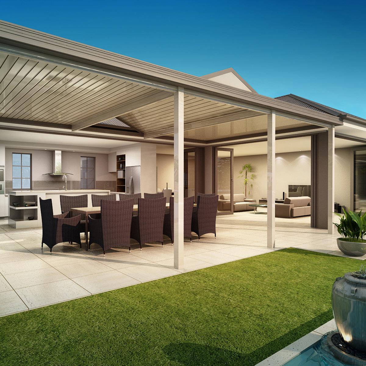 designer patio verandah pergola