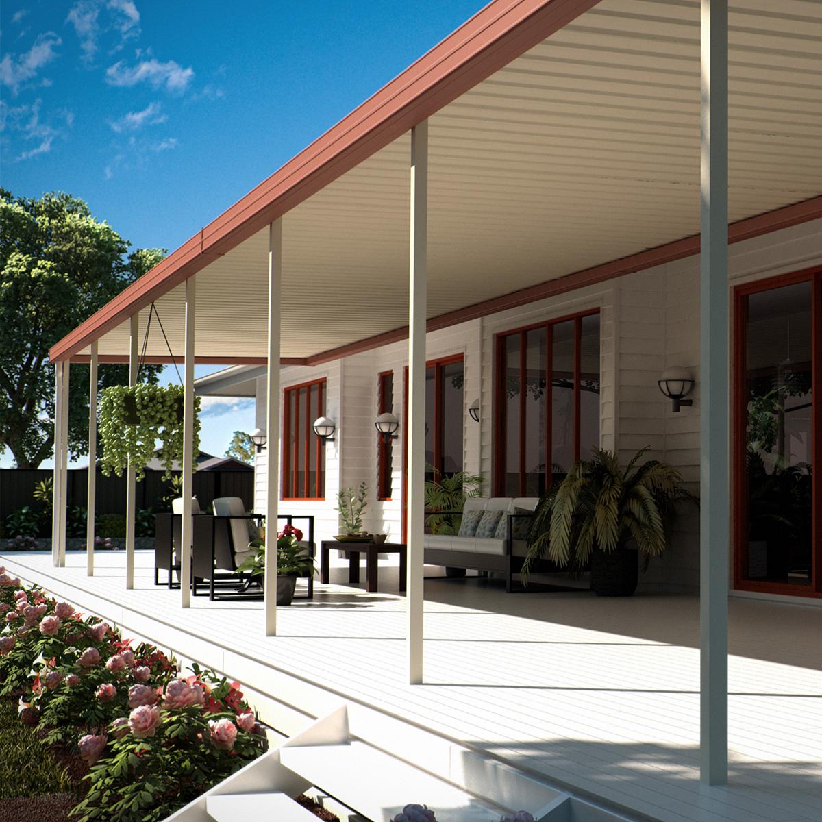 skillion patio verandah pergola