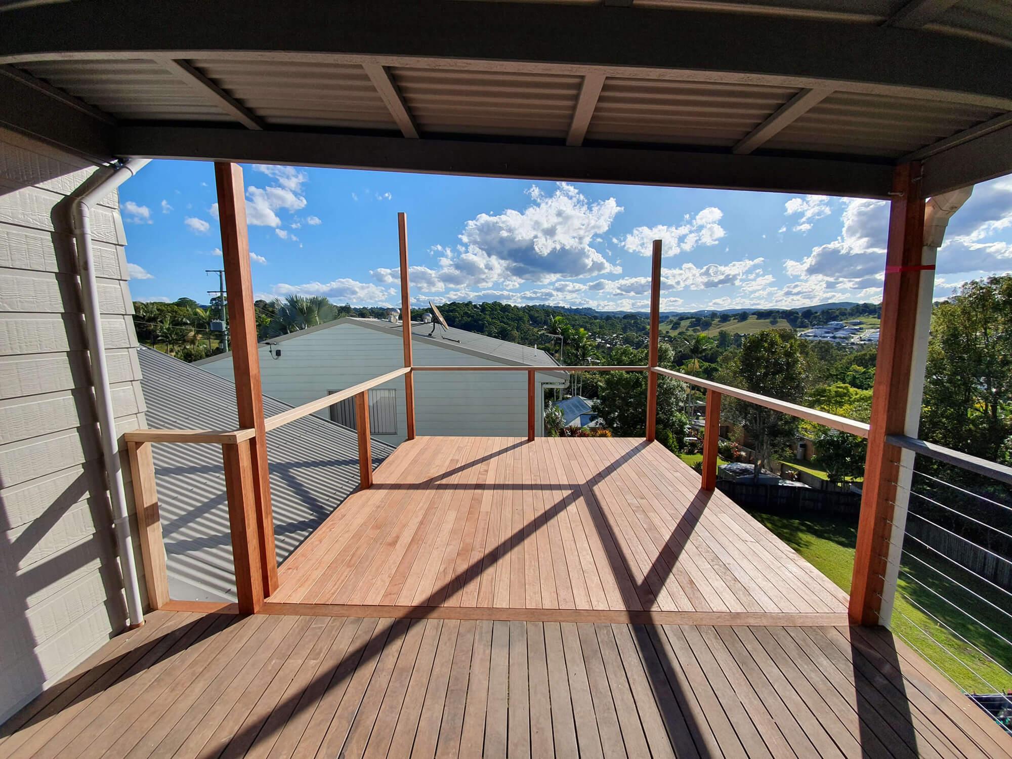 Deck builder Sunshine Coast Nambour home deck extension