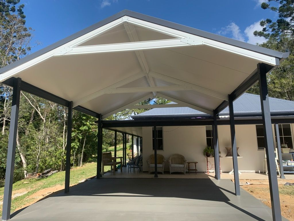 signature outdoor living carports colorbond carport